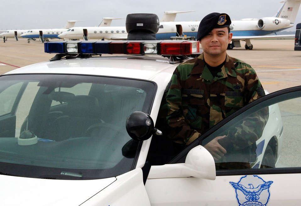 Airman keeps dedication VIPs safe