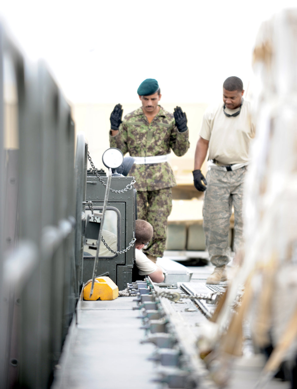 Afghan aerial porters visit Bagram, learn to supply the fight more efficiently