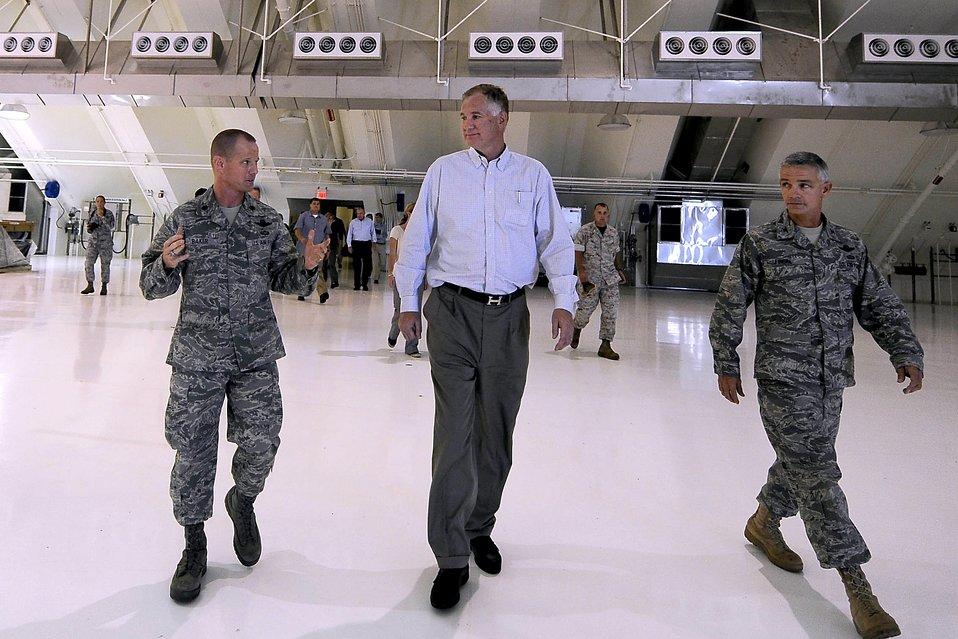 Deputy Secretary of Defense Lynn Visits Guam