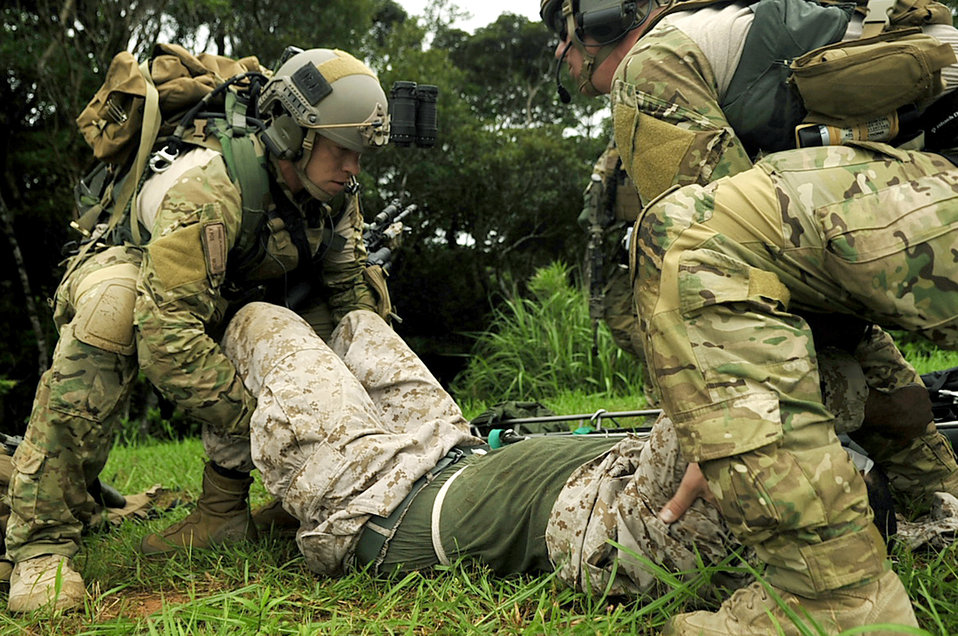 Airmen learn essential skills during joint combat training exercise