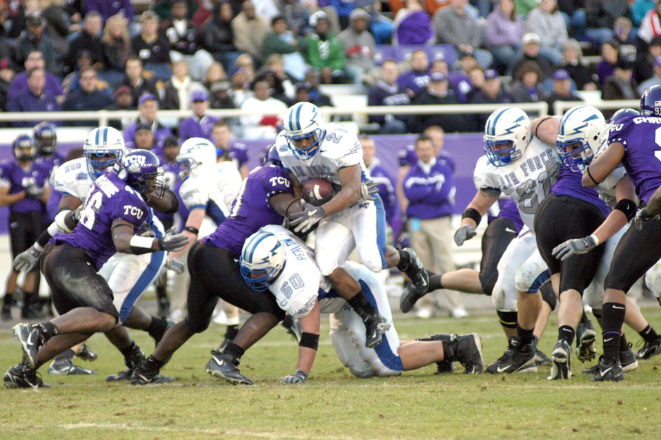 TCU grounds Air Force in season finale