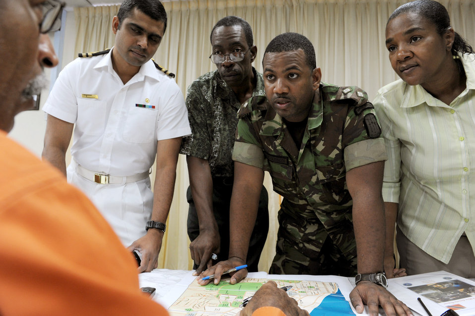 Trinidadian training concludes with counter-terrorism exercise
