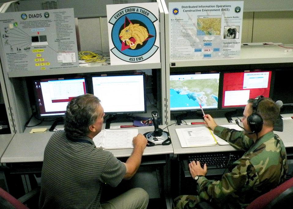 Squadron provides 'electronic armor'