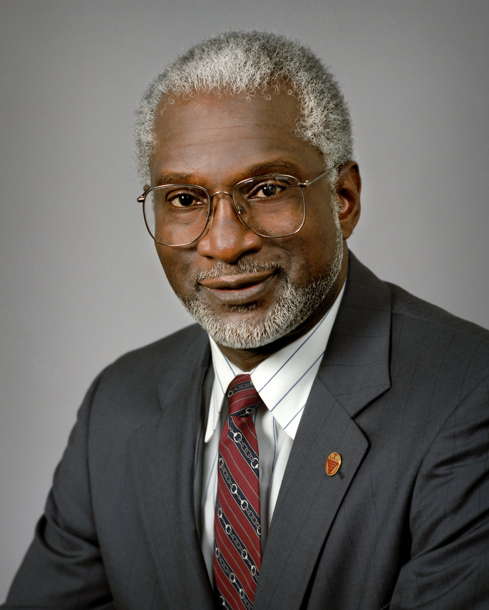 Photographer Troy Hall captured this image of Dr. Satcher while he was the Director of the Center of Disease Control, 1993-1998.