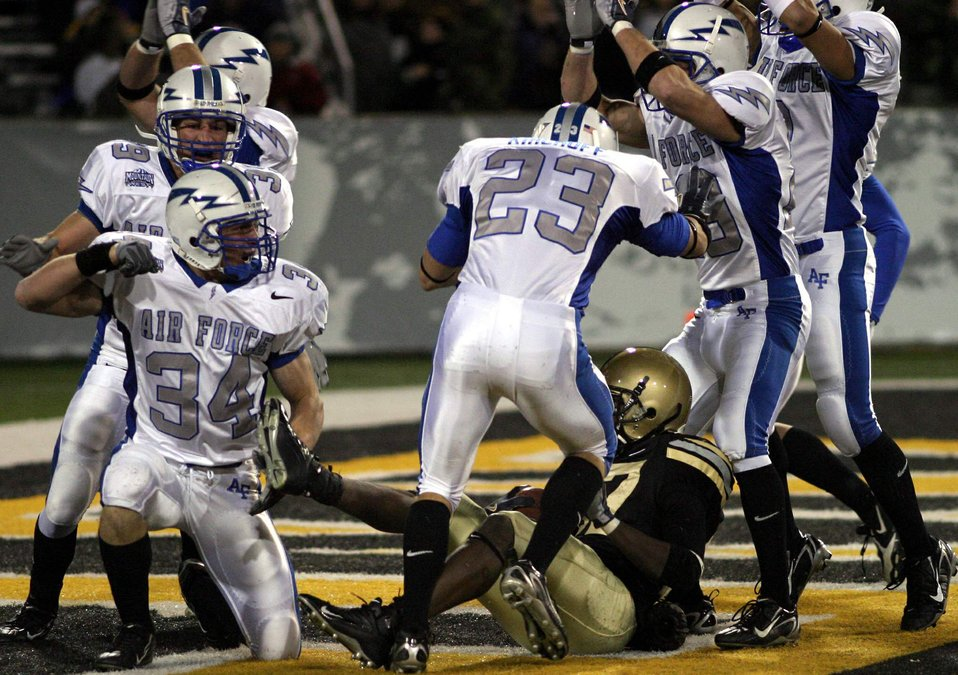Army/Air Force football game