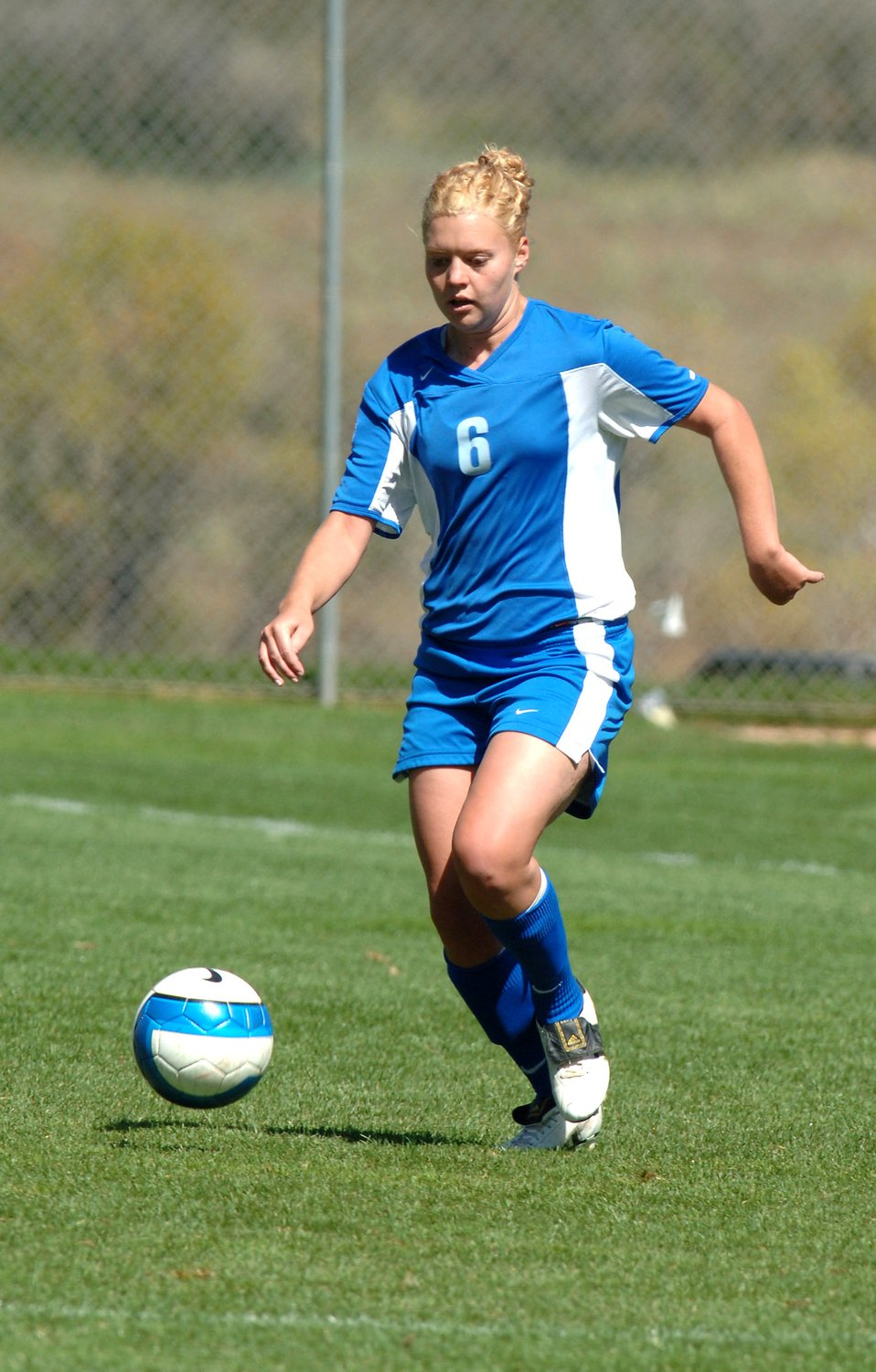 Cadet named to all-conference women's soccer team