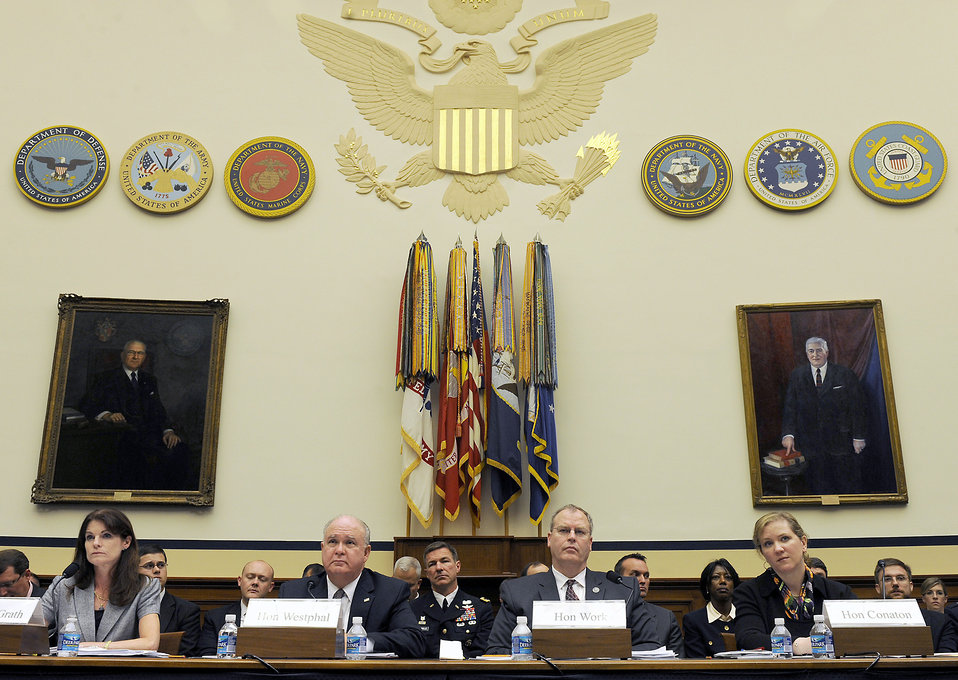 Air Force undersecretary testifies about efficiences before House committee