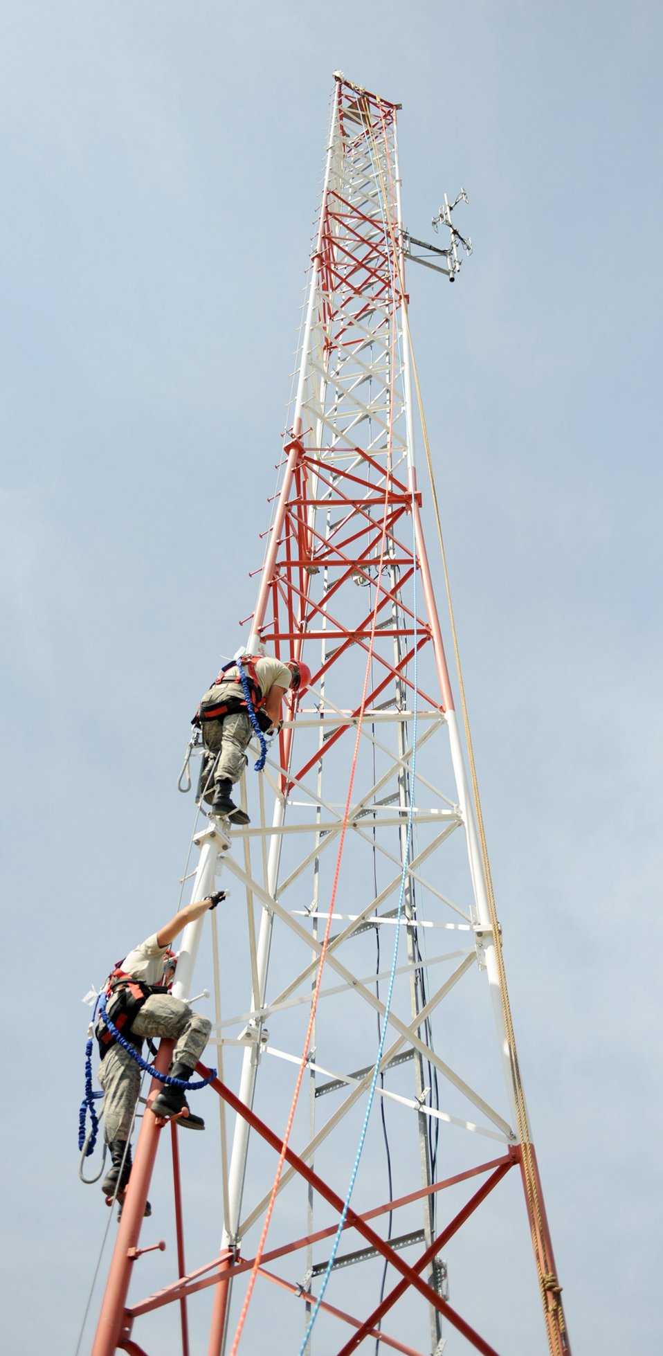 Upgrading communications tower