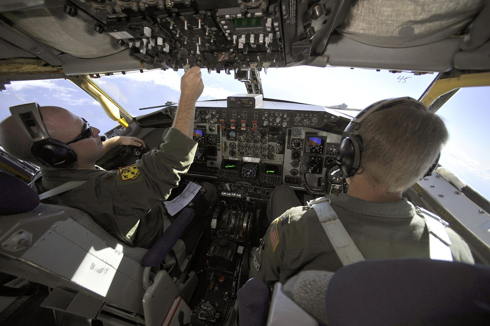 Refuelers keep aircraft flying during exercise