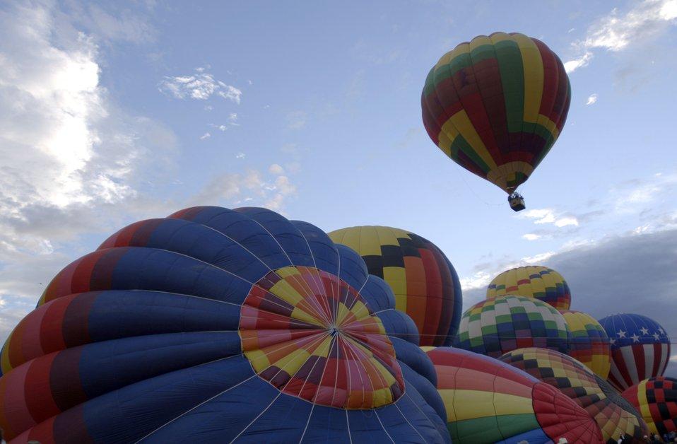 Balloon Fiesta takes off