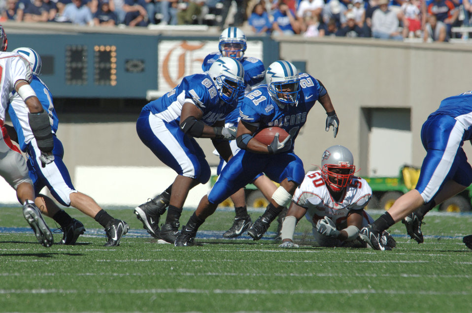 Air Force beats New Mexico 24-7