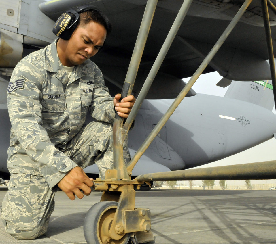 Balad Airmen