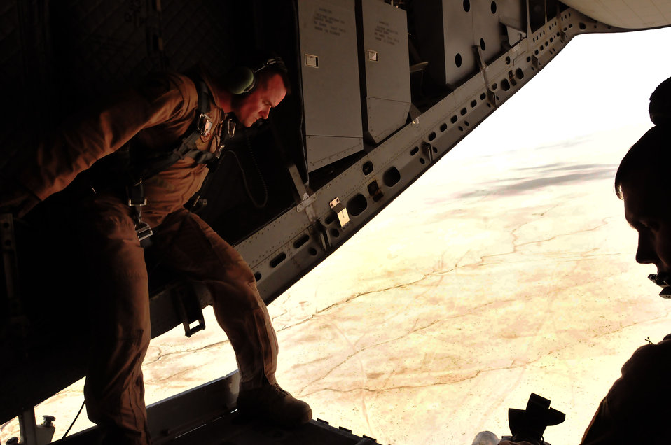 C-27 over Afghanistan