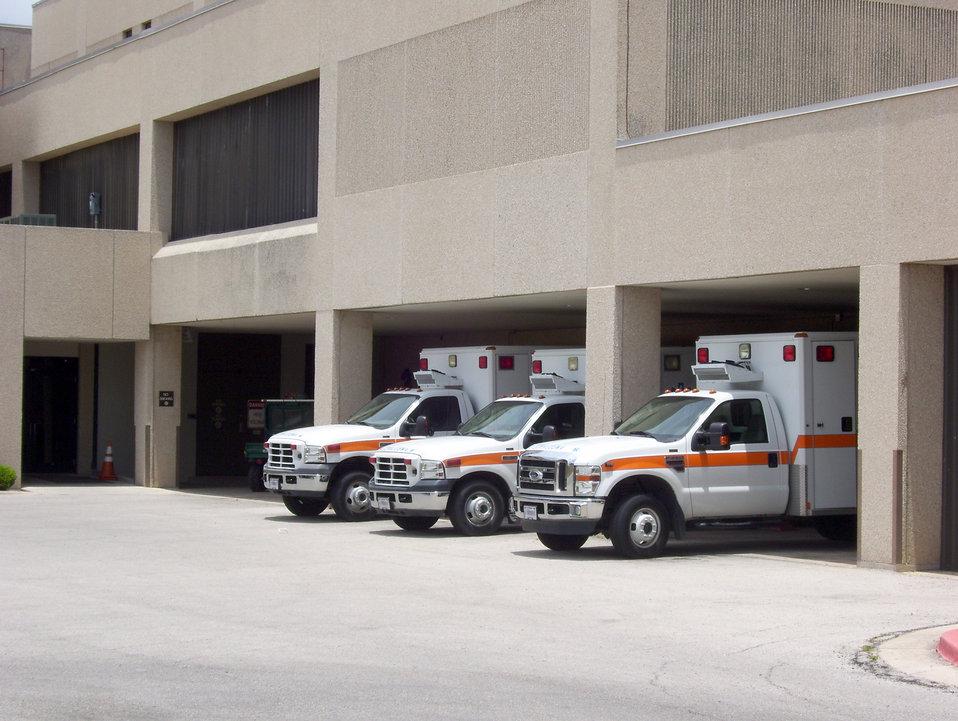Air Force trauma center