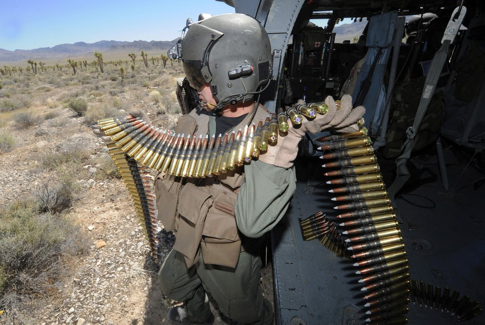 California Guard participates in firing mission