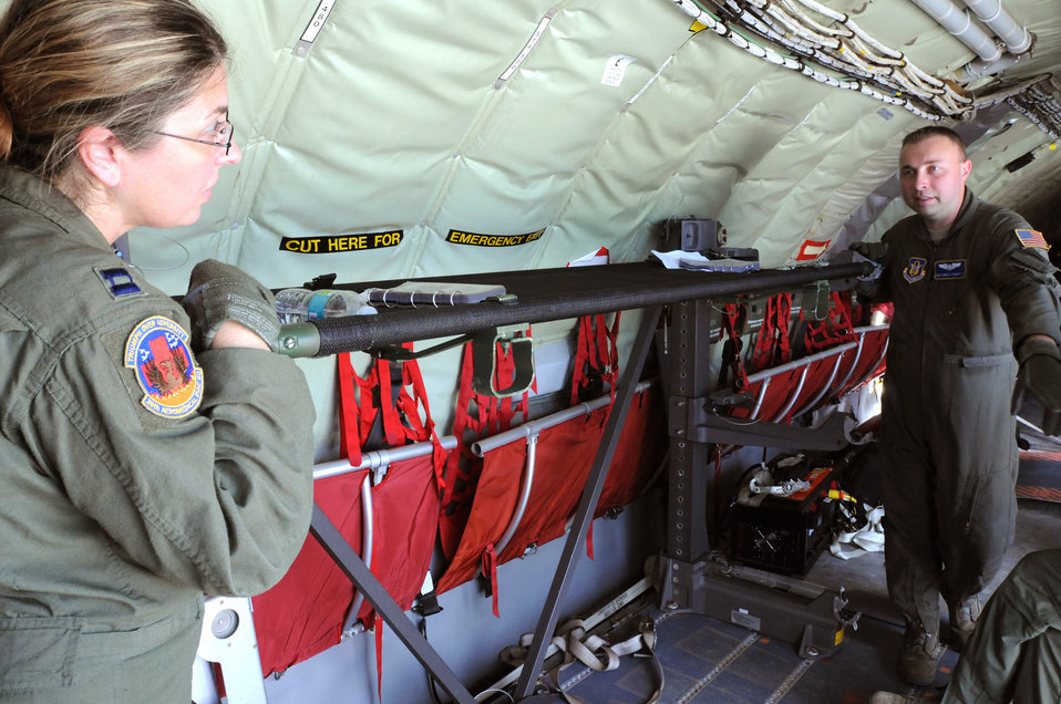 Total force aeromedical evacuation technicians gain unique training