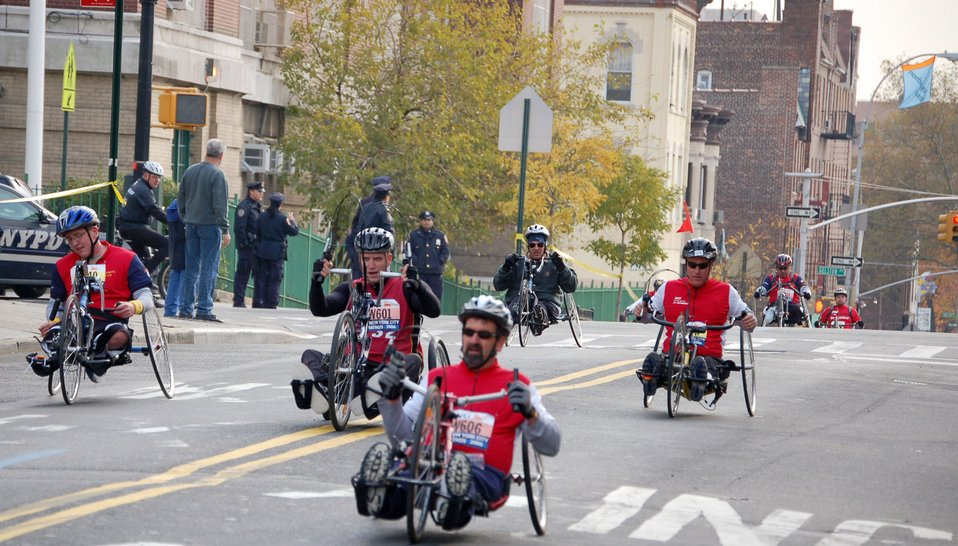 Veterans take on the New York City Marathon