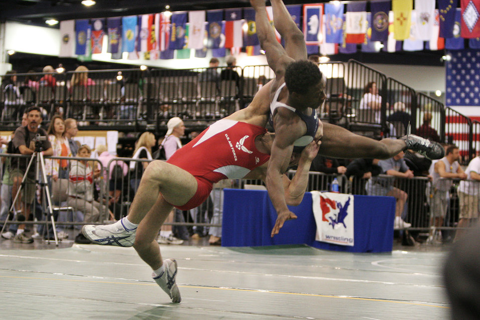 Air Force wrestlers compete in Las Vegas tourney
