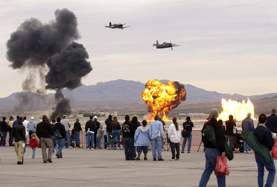 Aviation Nation at Nellis