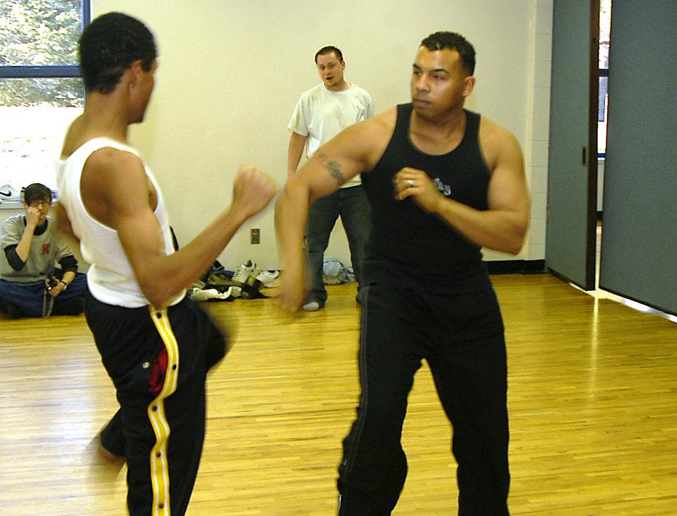 NCO mentors through martial arts