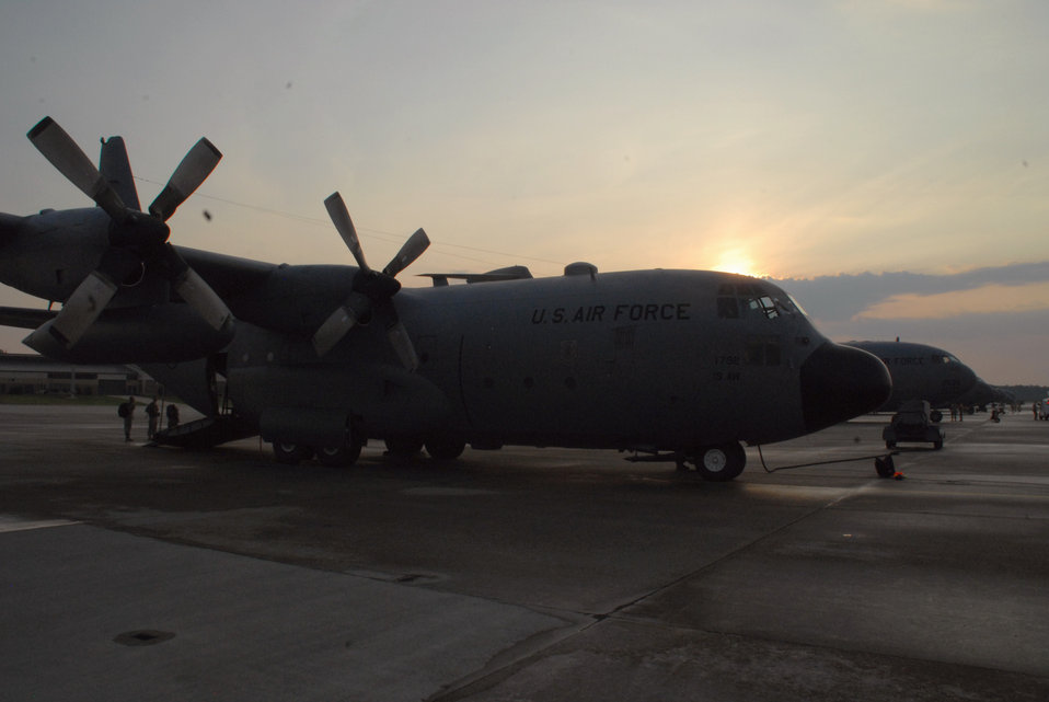 Four Little Rock aircrews take part in largest joint exercise formation