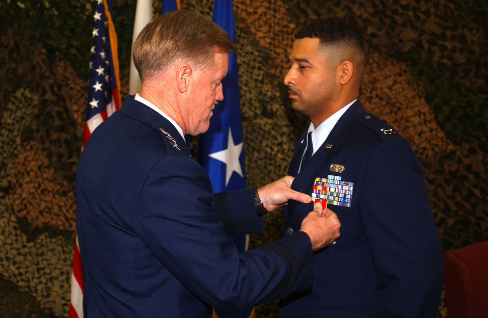 Security forces member receives Bronze Star