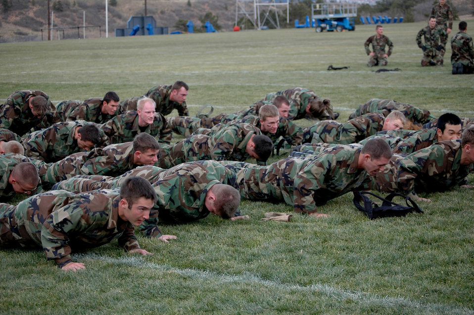 Academy conducts Commandant's Challenge 2006