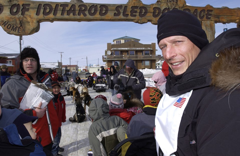 Air Force doctor finishes Iditarod with flourish