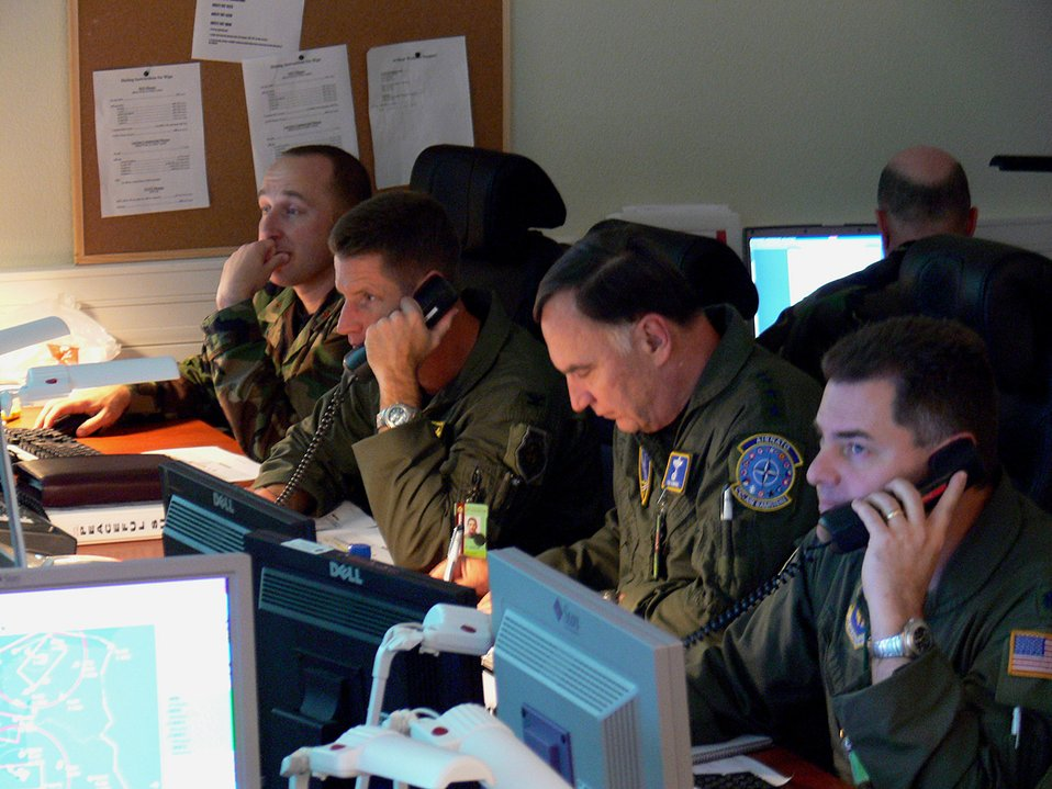 NATO team ensures safe sky during Riga Summit