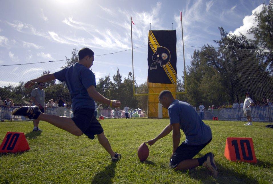 NFL Military Challenge