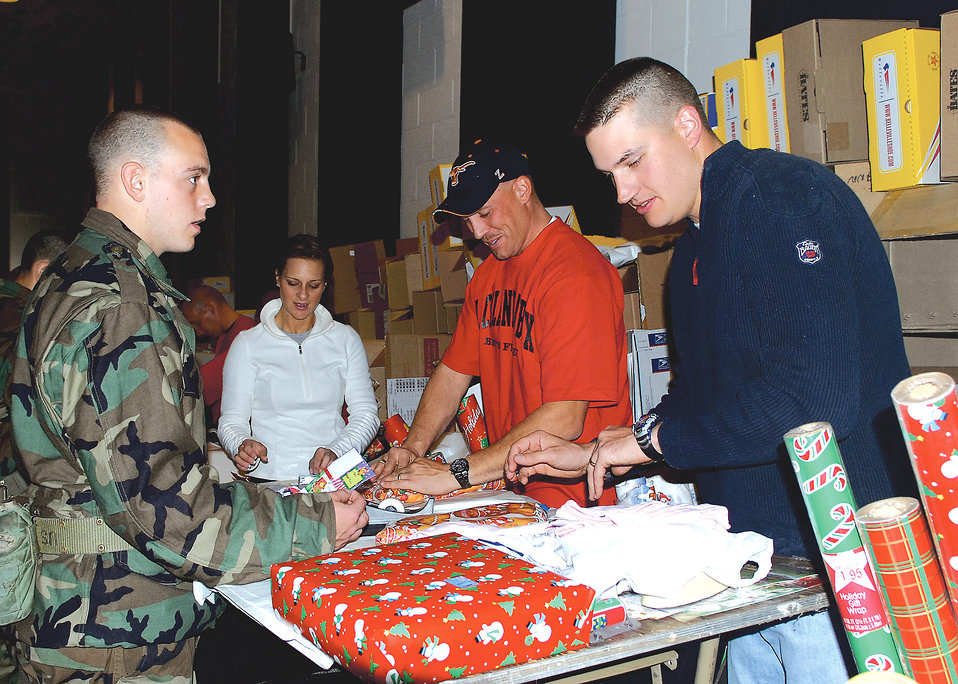 Trainees given chance to shop, ship presents