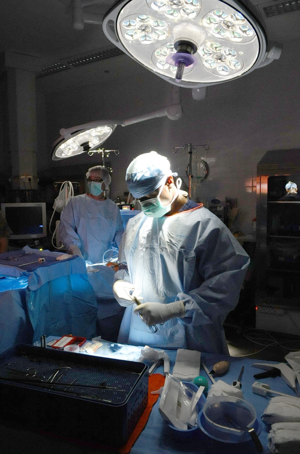 In-theater medcal treatment