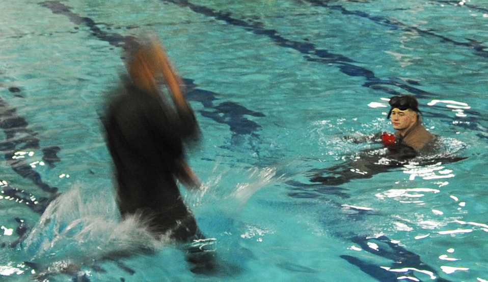 Water survival course moves from Florida to Fairchild