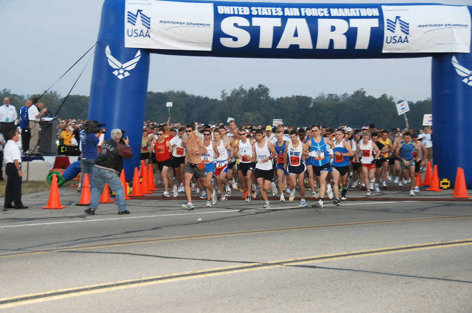 10,000th runner registers for Air Force Marathon