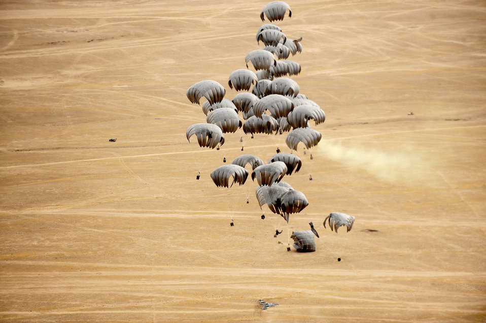 Airdrops break records in Afghanistan