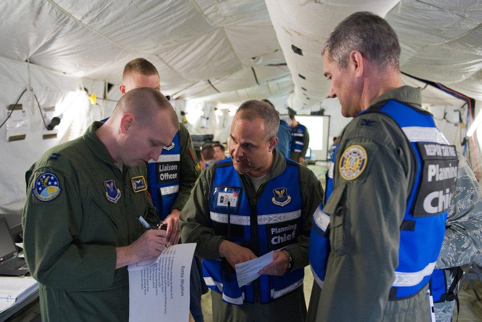 Global Strike Command Airmen respond to incident scenario