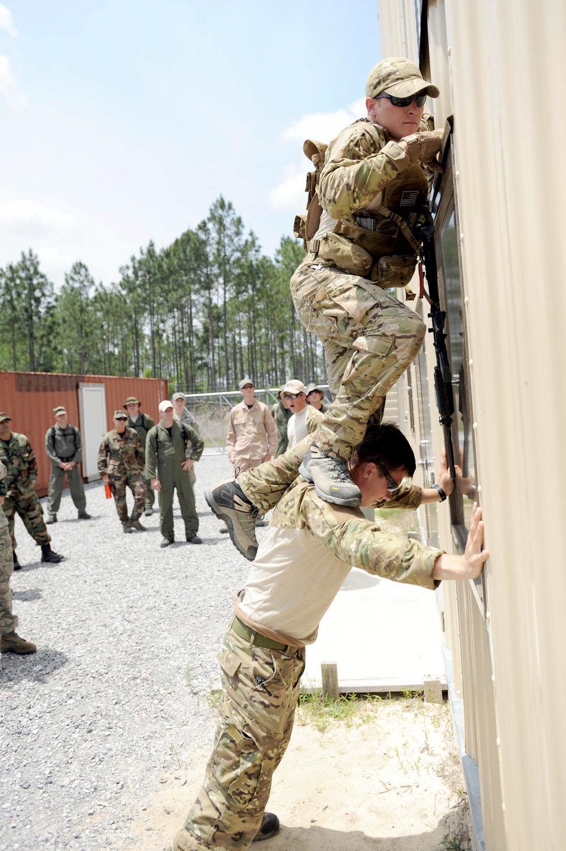 Survival Training vs. OPFOR