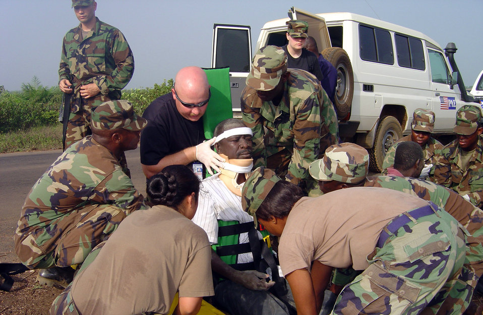 USAFE, Liberian medics team up to save lives