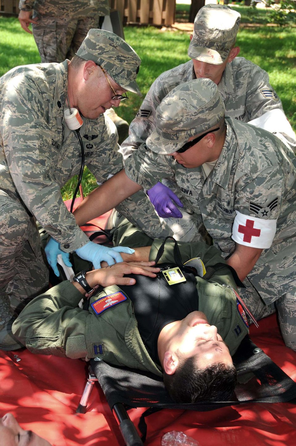Altus Airmen exercise mass casualty response and recovery
