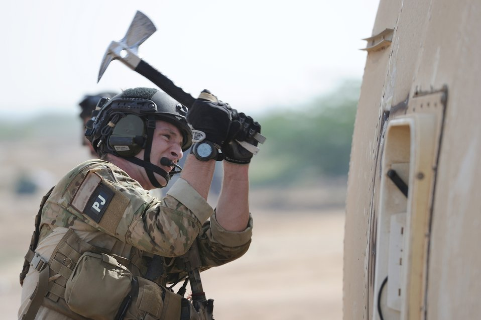 Airmen participate in African rescue exercise