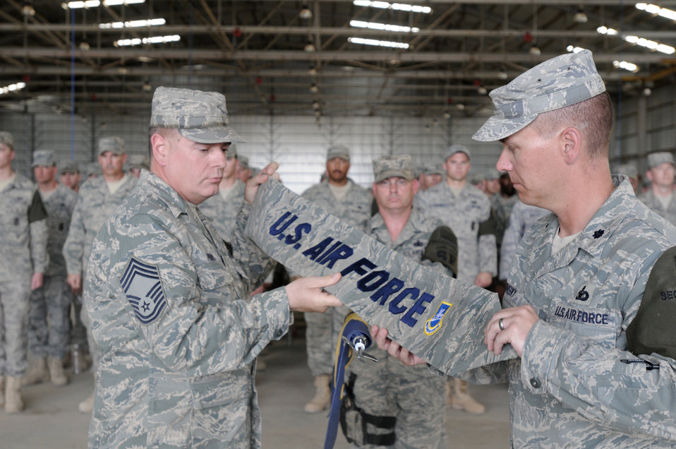 Air Force security transfers authority to Army