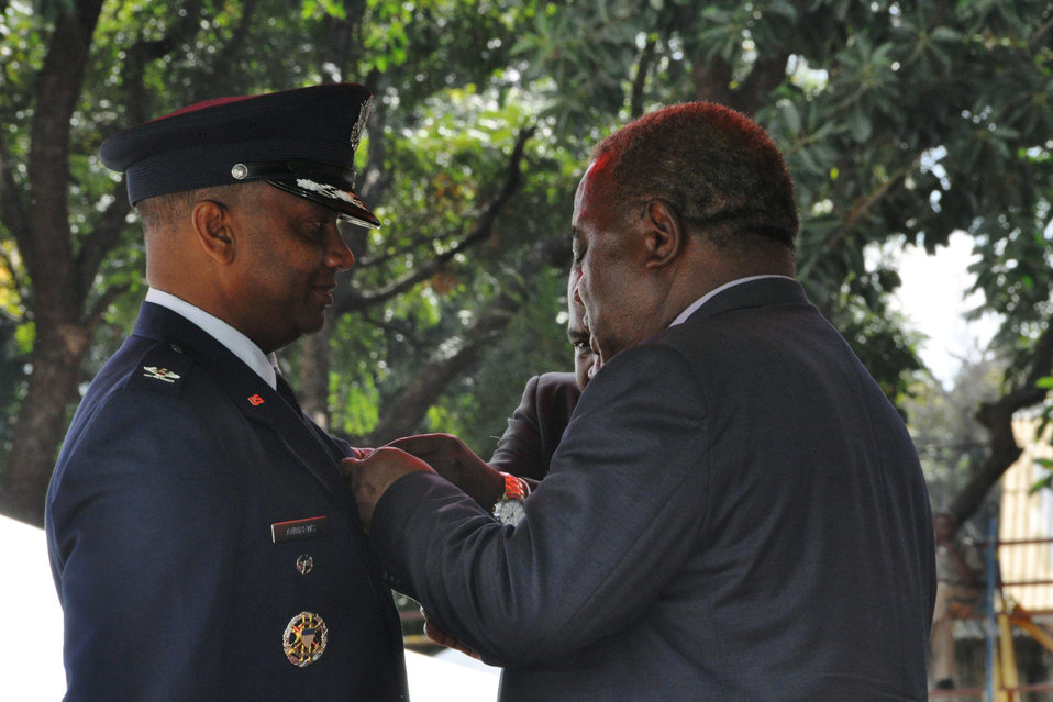 Colonel receives honor