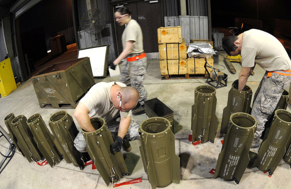 Osan Airmen host munitions exercise
