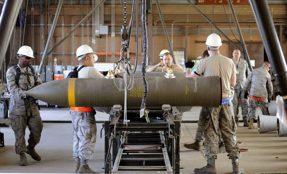Osan Airmen host munitions exercise