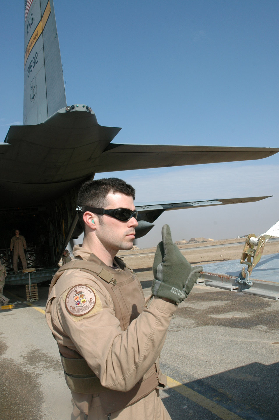 C-130 airlift reduces ground convoy operations