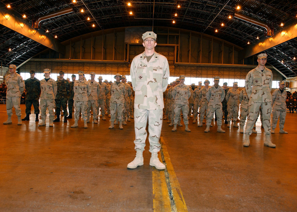 Welcome Home Ceremony
