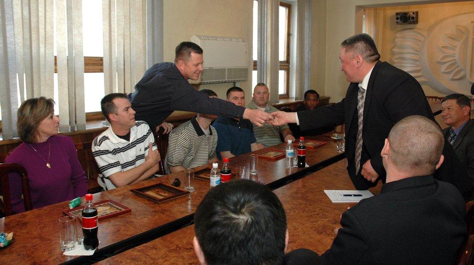 Manas Airmen reunite sister cities Bishkek, Colorado Springs