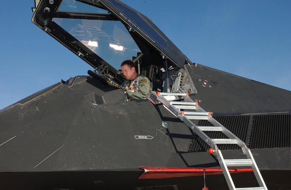 Nighthawk at Red Flag
