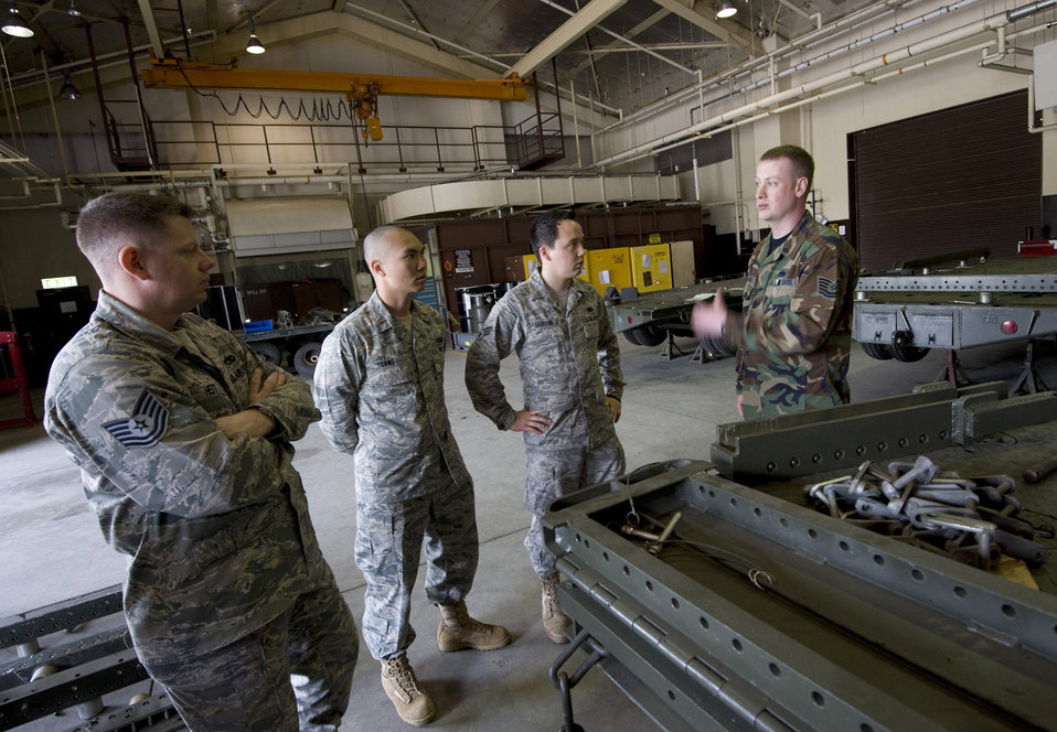 Misawa maintenance Airmen benefit from AFSO21 review