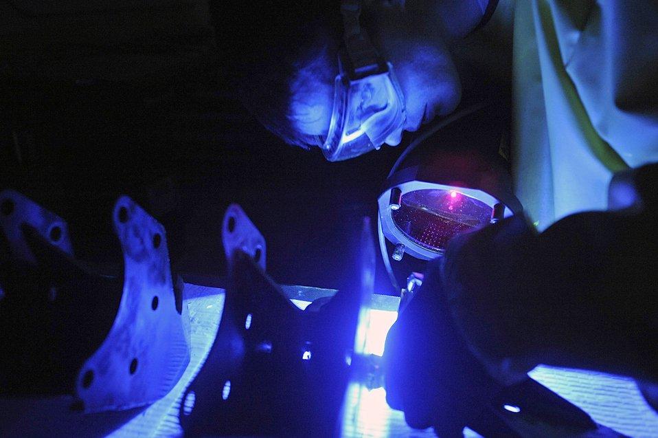 Ellsworth ultraviolet light inspection